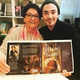 Michael Ceken har format det vackra omslaget till Lustans Tivoli