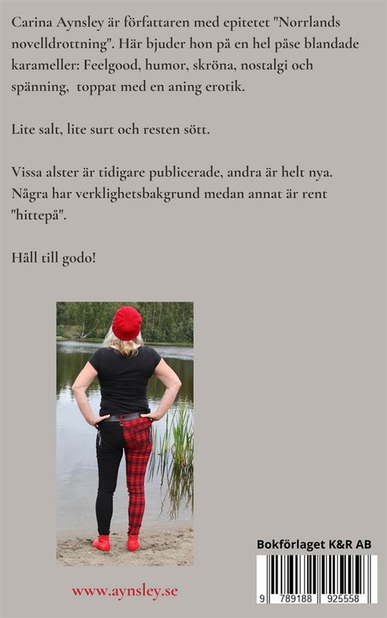 Baksidestext. Fotograf Micael Lindberg