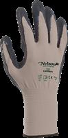 Handske Comfort strl 6 grå/svart