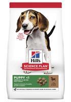 Hills Hund Puppy Medium Lamb&Rice 2.5kg