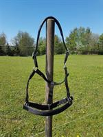 Grimma Läder/Nylon Svart Ponny