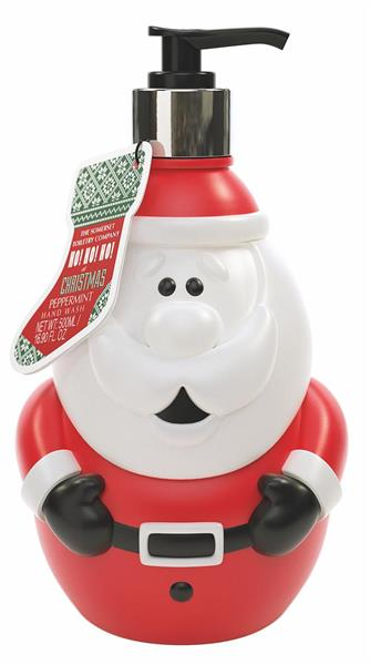 Santa Shaped Hand Wash Peppermint 500ml