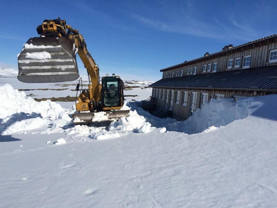 Store snømengder - ikke noe problem!