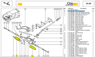 SOUFFLET DIREC - Gaitor-Steering rack