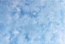 Lys blå melert