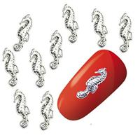 KN- JEWELRY Seahorse Silver