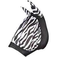 Flughuva Elastisk Hansbo Zebra Ponny