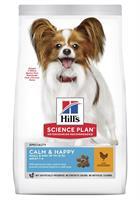 Hills Hund Adult Small&Mini Calm & Happy Chicken 1.5kg
