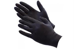KN- Latex Glove Black Large