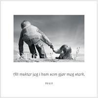 Postkort Fil 4,13