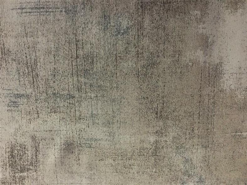 Grå/beige m/ blå innslag