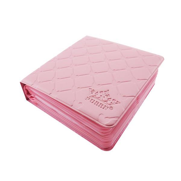 PUEEN- Nail Plates Organizer Soft Pink