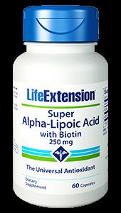 Alpha-Lipoic Acid w. Biotin  60 caps