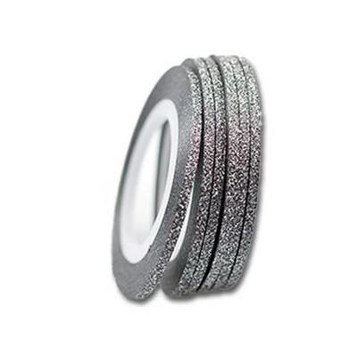 KN- Glitter Stripe Black