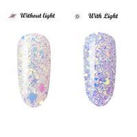 BL- Light change glitter #6