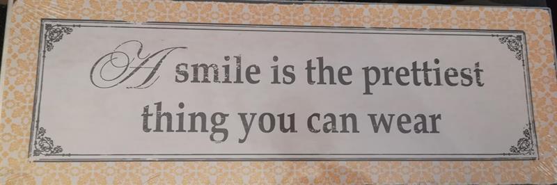 Kyltti Smile