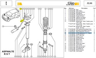 VIS CHCM12X150 - Bolt damper top mount