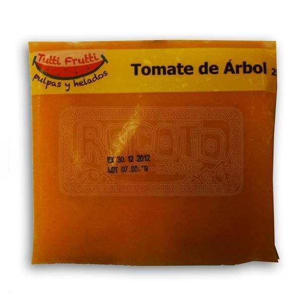 Pulpa Congelada de Tomate de Arbol, 250g