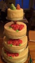 Bröllopstårtan