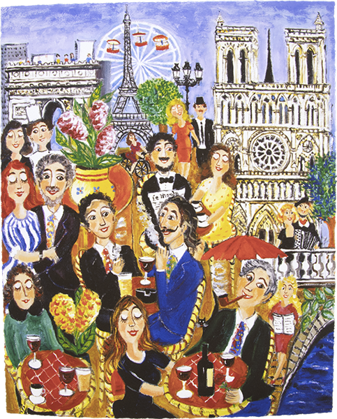 Målarinnan i Paris