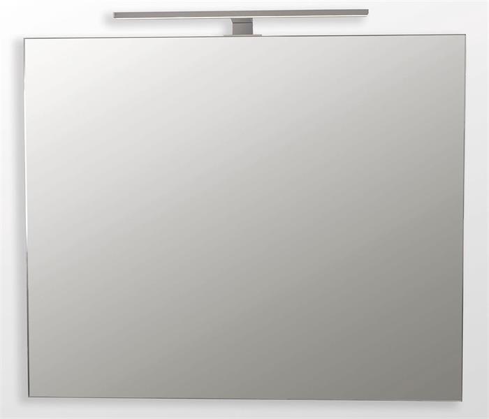 Spegel, 90x60cm, Vit Satin