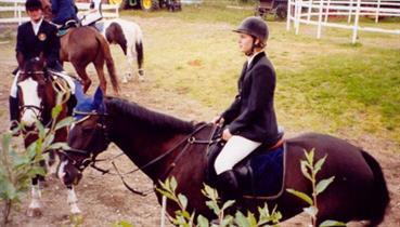 Sommerstevnet 2002 Caroline/Mali og Kristine/Philippa