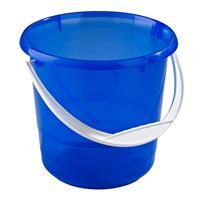 Hink 5L Transparent-Blå -