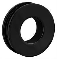 RoyalBath Dubbelsidigt Grepp Svart Matt, Diameter 52 mm