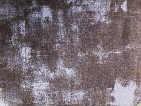 Sort m/ gråblå innslag