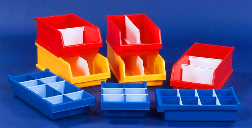 A selction of storage boxes
