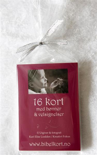 16 BV-kort i pakke