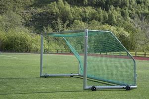 PT Fotballmål 244x732cm, m/nett og kroker