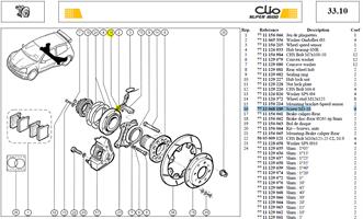 VIS CHC 3X50 LG:10 CL:8.8 - Screw M3-10