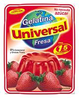 Gelatina Universal Fresa, 250g