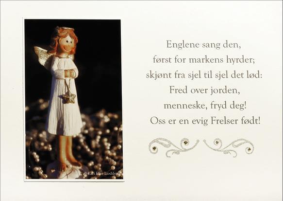 Håndlaget julekort