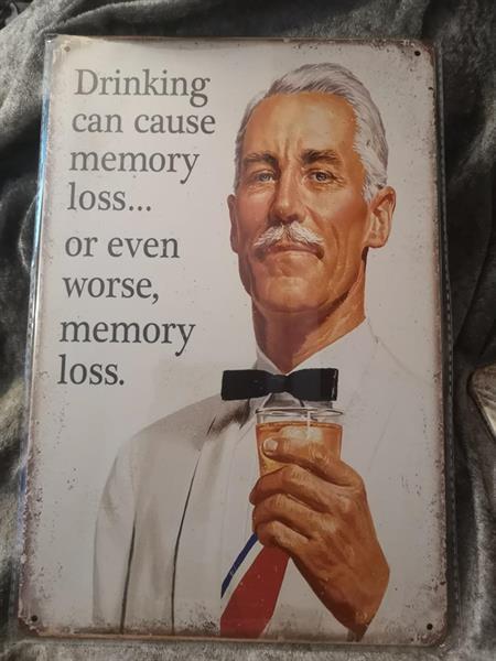 Drinking, peltitaulu