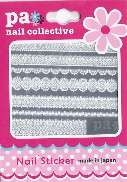 DL- PA Sticker White Lace