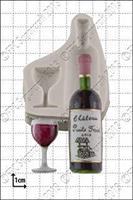 Silikonform, Vinflaske og Vinglass FPC