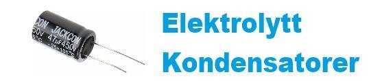 Elektrolytt kondensator