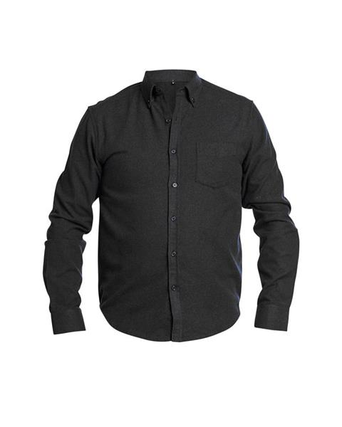 Flanellskjorta Lyx, Grå strl.L