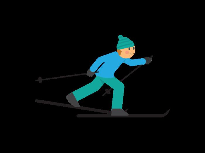 Barmarkstrening for skiglade barn