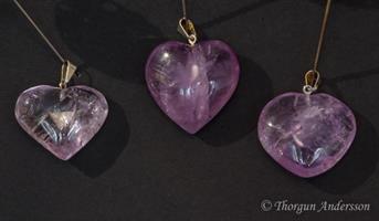Kristallhänge Ametist Hjärta