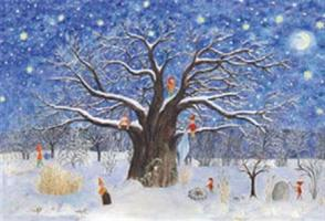 Joulupuu-adventtikalenteri