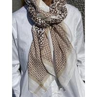 Three M Scarves, Camel