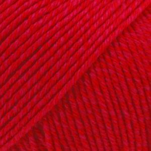 Cotton Merino Rød