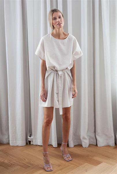 Gauhar Boxy Dress, Sand
