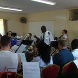 Robert conducting