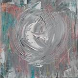 Titel: Vinterälskare, strl: 15x15cm, akryl, Pris: 400kr