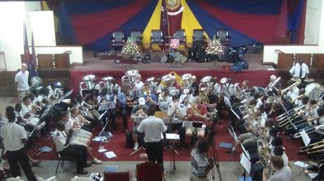 Massed Bands - Nairobi Central Corps