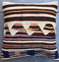 Anatolian kilim cushion cover 40 x 40